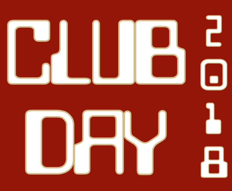 Club Day Coming