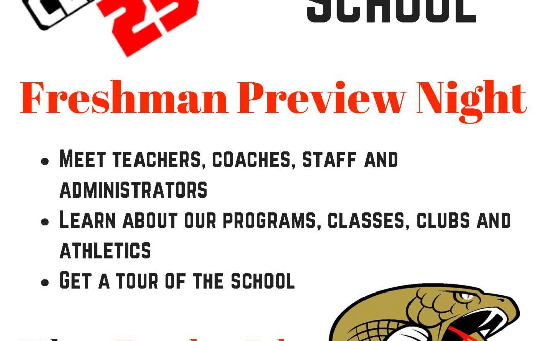 Freshman Preview Night