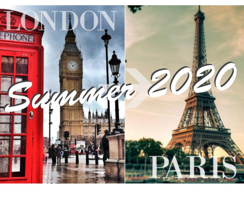 London/Paris Summer 2020